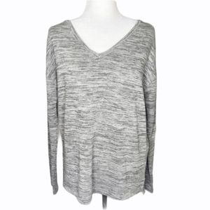 Roots gray pullover v-neck sweater